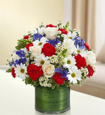 Cherished Memories - Red, White and Blue