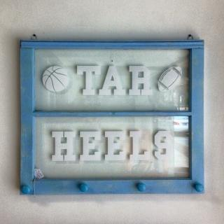Tarheels window