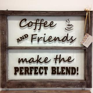 Coffee & Friends Blend window